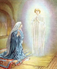 Annunciation- Mother's day